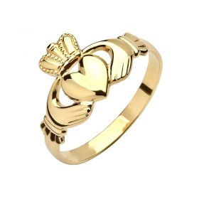 Gents Gold Claddagh