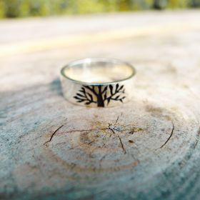 Tree Of Life Ring. Ladies