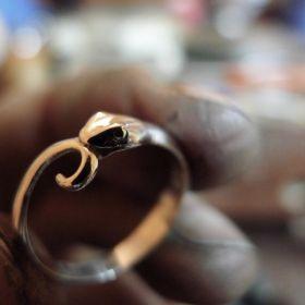 Snake Ring. Oroborus