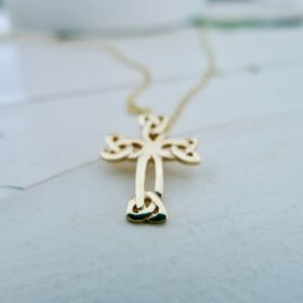 Irish Gold Cross