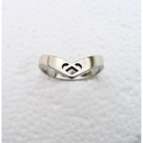 Celtic Heart Ring Silver